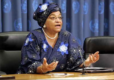 President Sirleaf