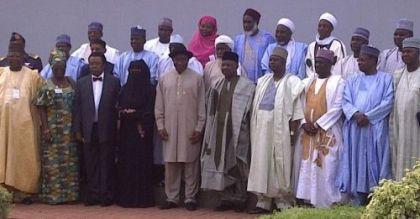 Boko Haram leadership with Pres Johnathan