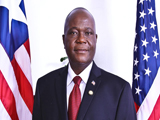 Jeremiah Slunteh Liberia Ambassador to U . S.